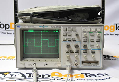 HP Agilent Keysight 54645D 100MHz MegaZoom MSO Oscilloscope and Probe