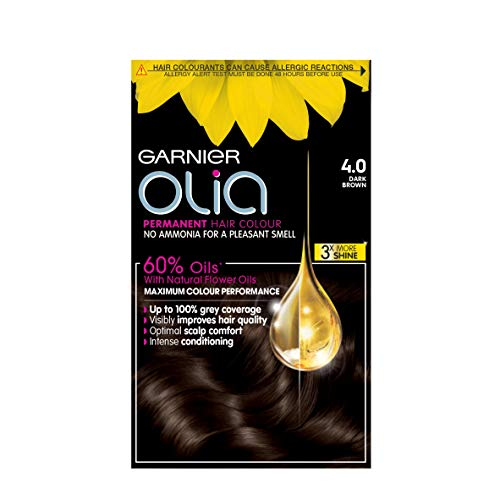 Garnier Olia Permanent 4.0 Dark Brown Hair Dye