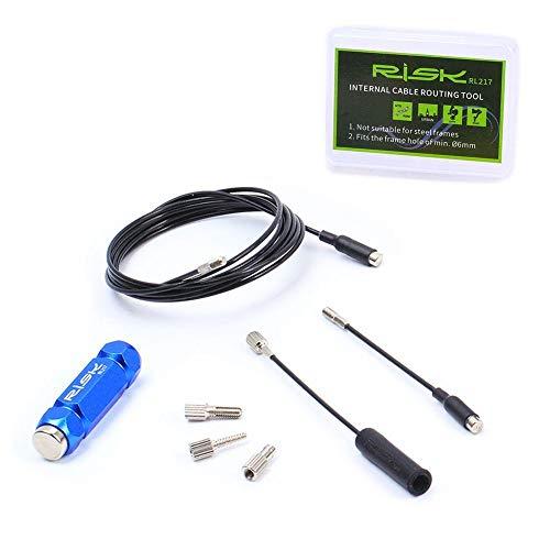 Kit de carcasa de cable de freno de bicicleta herramienta de enrutamiento...