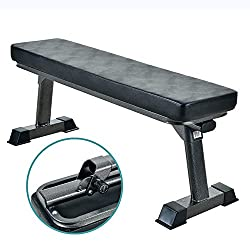 in budget affordable High quality foldable flat bench for a variety of strength and abs workouts