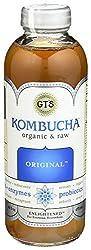 Gt's Organic Kombucha, Original, 16 Ounce