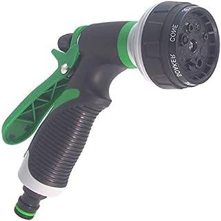 Garden Hose Nozzle Gun Head Adjustable Nozzle Gun Multifunctional Garden Lawn high Pressure Spray Hose (Color : D)