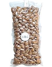 Siciliaanse natuurlijke amandelen - 500 gr - LùBar - Biologisch rauw gedroogd fruit - Biologische amandelen - Typisch Siciliaans product - Gemaakt in Italië