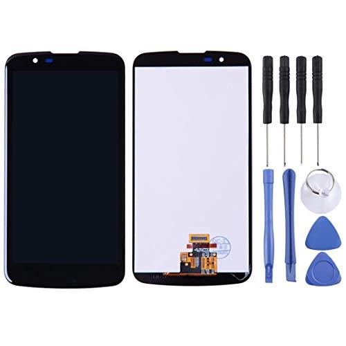 kangruwl Reemplazar revisión por Partes telefónicas Pantalla LCD y Montaje Completo de digitalizador con Marco para LG K10 K10 LTE K430 K430DS K420N 420ºC Accesorios (Color : Color1)