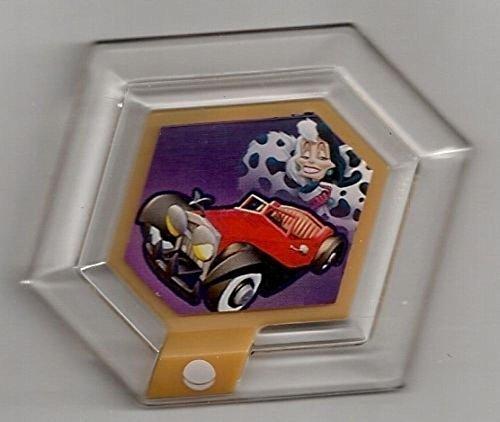 Disney Infinity Series 3 Power Disc Cruella De Ville's Car (from 101 Dalmatians)