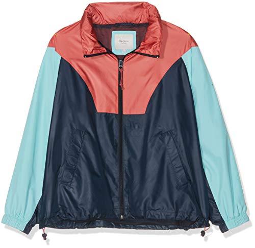 Pepe Jeans Damen Wynette Jacke, Blau (Dulwich 594), Medium