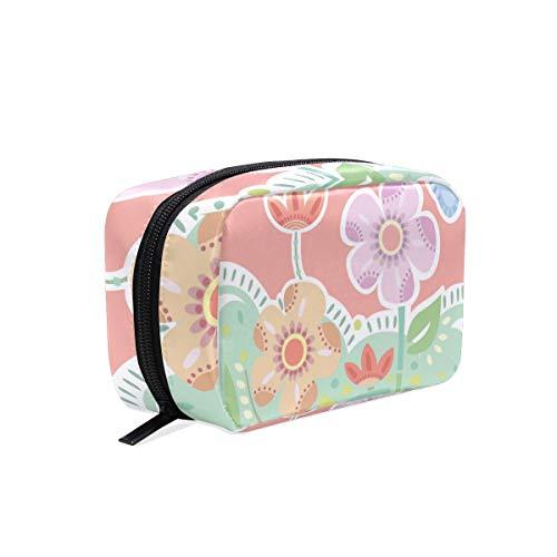 Hengpai Flora Trousse de toilette carrée à fermeture Éclair pour femme Multicolore 12 Taille unique