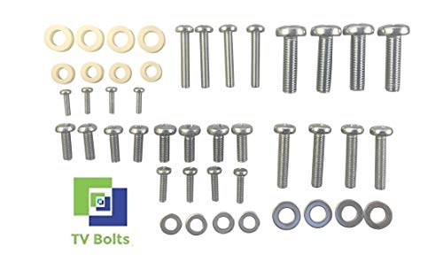 Full Set of LG TV Mounting Bolts/Screws and Washers - Fits Any Size TV