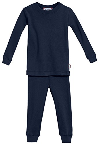 City Threads Boys' and Girls' Pajama Set PJs, Organic Cotton, Made in USA
