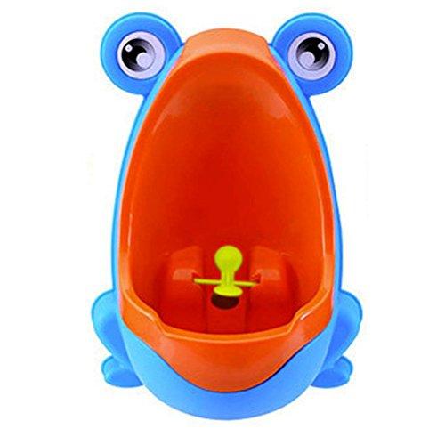 LEORX Babytöpfchen Kinder-Urinal WC Urinal Frosch Töpfchen Jungen Pee Töpfchentraining Urinal