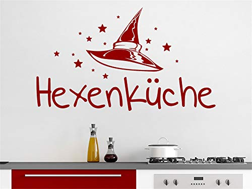 Wandtattoo Küchen Hexenküche Schriftzug Mit Sternen Wandaufkleber Küche Esszimmer Wanddeko