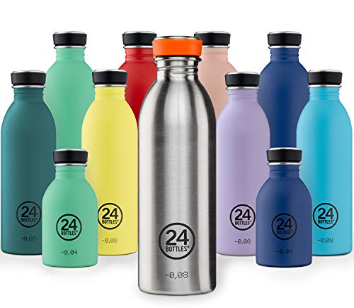 24Bottles Urban Bottle 250ml Atlantic Bay Botella, Adultos Unisex, Multicolor (Multicolor), 250 ml