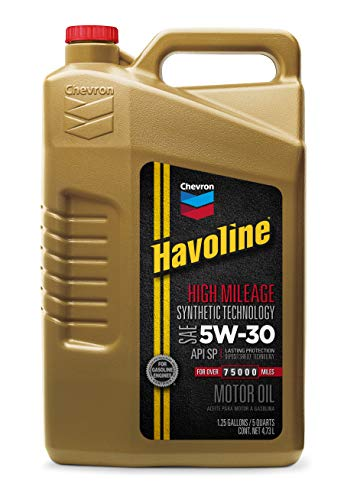 Havoline 5W-30 High Mileage Synthetic Blend Oil