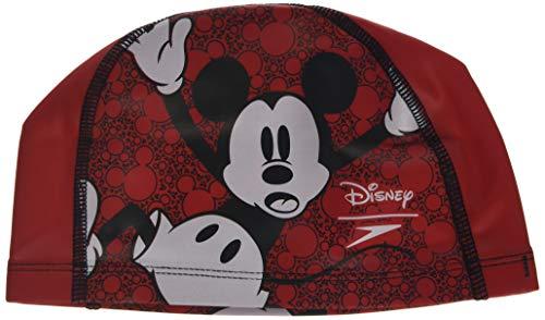 Speedo Casquette pour enfant Motif Disney Rouge/blanc/noir Taille unique