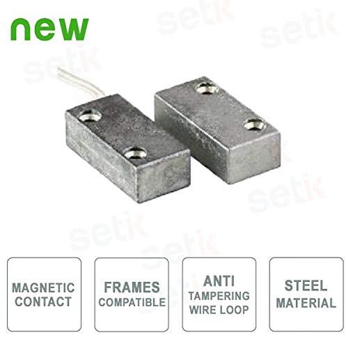 CSA - Contacto magnético de Metal pequeño - Acero - CSA 403-AP