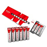 Bevigor AA Lithium Batteries, 12 Pack Lithium Iron Double A Batteries, 1.5V 3000mAh Longer Lasting AA Batteries for Flashlight, Toys, Remote Control, 【Non-Rechargeable】