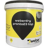 weberdry pronto 23 top Impermeabilizzante a base bitume pronto all'uso, nero, 5 kg