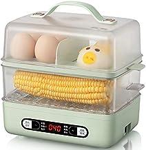 XJJZS Électriques Alimentation Vapeur Vapeur Cuisinière Pâtisserie Fruits de mer Egg Vapeur Ménage Timing Double Couche Cu...