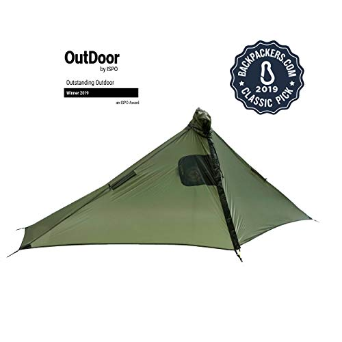 Six Moon Designs Gatewood Cape - 10 oz - 1 Person Ultralight Tarp/Cape...