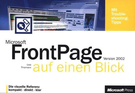 Microsoft FrontPage Version 2002 auf einen Blick