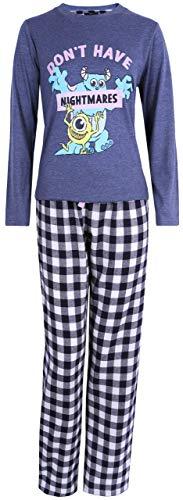 Pijama Azul Marino Monstruos S.A. Disney XS