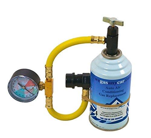 Kit di ricarica Auto aria condizionata fai da te air Con Top up Topup Refi gas (NO Francesi REN. PUGE.)