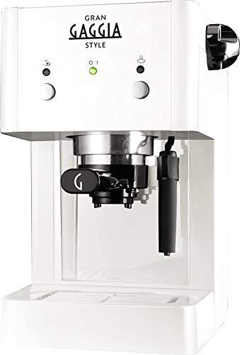 Gaggia Macchina da caffè manuale RI8423/21 Gran Style ekspres do kawy, biały, tworzywo sztuczne, 2 kubki