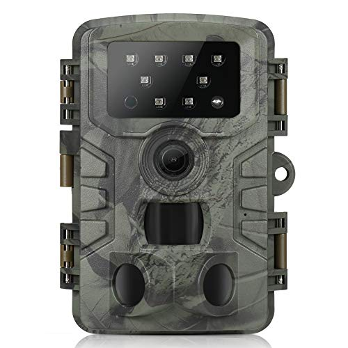 Roeam Cámara de Caza 20MP 1080P con Diseño Impermeable IP66,3 sensores Infrarrojos,Gran...