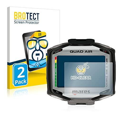 brotect 2-Pièces Protection Ecran Compatible avec Mares Quad - Film Protection Ultra Clair