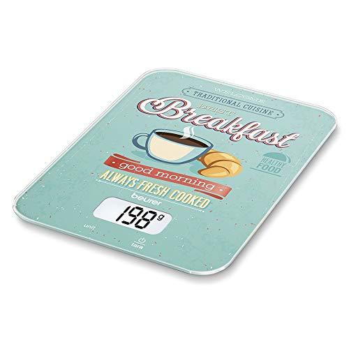 Beurer KS 19 Balance de cuisine motif Breakfast