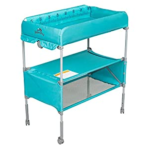 Kinbor Baby Changing Table Folding Diaper Station Nursery Organizer for Infant