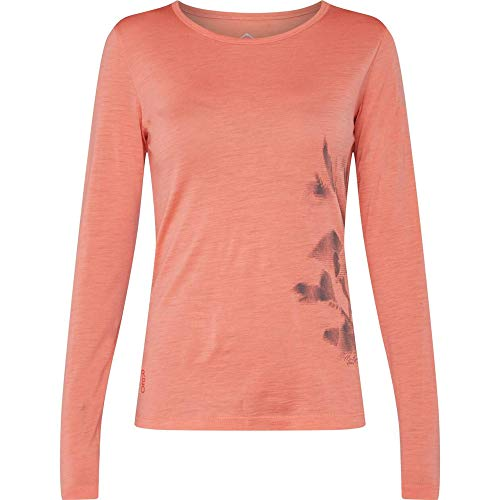 McKINLEY Curra Femme T-Shirt, Red Light, FR : XL (Taille Fabricant : 46)
