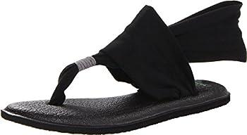 Sanuk Yoga Sling 2 Black 8 B  M