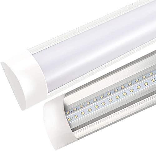 LineteckLED® - P25-60WF Plafoniera Led Ultraslim 150cm 60W Luce fredda (6000K) 4800 Lumen sostituisci la Tradizionale Plafoniera Neon con le Plafoniere Led a Soffitto Moderno