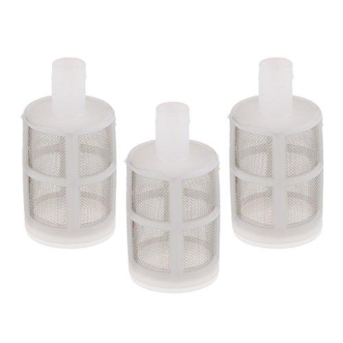 Baoblaze 3X Filtro Pompa Acqua Rete Filtrante Plastica Acciaio Inox Accessori Tubi