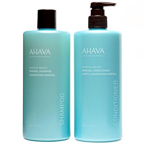 AHAVA Deadsea Water Mineral Shampoo & Conditioner Duo