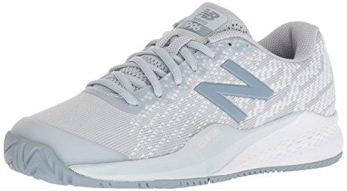 New Balance Women's 996 V3 Hard Court Tennis Shoe, Grey, 11 B US