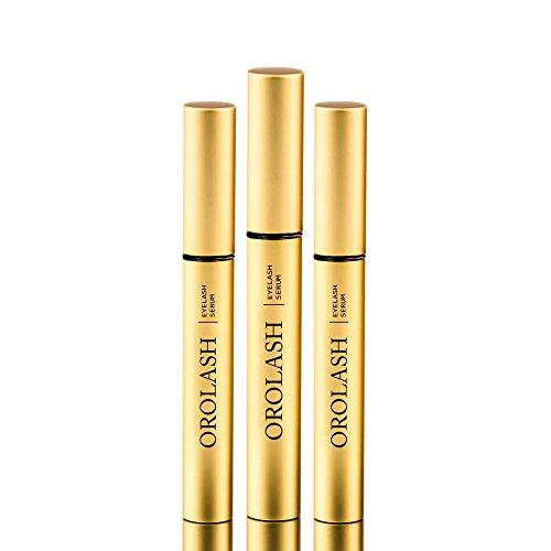 Siero Ciglia e Sopracciglia crescita OROLASH ULTRA RAPIDO 2X3ML (6 MESI) | Prodotto naturale Trattamento eyelash serum per ciglia più lunghe | ULTRA EFFICACE |...
