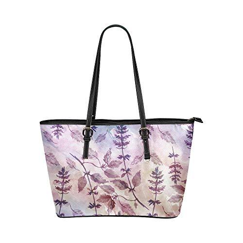 N\A Handtasche Lagerung Kreative Grün Gemüse Koriander Leder Hand Totes Tasche Kausale Handtaschen Reißverschluss Schulter Organizer Für Lady Girls Damen Handtasche Reisen