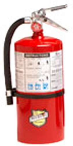 Buckeye 11310 ABC Multipurpose Dry Chemical Hand Held Fire Extinguisher with Aluminum Valve and Wall Hook, 10 lbs Agent Capacity, 6