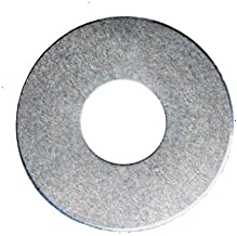 RMP Stamping Blanks, 3/4 Inch Washer with 3/8 Inch Center Hole, 0.063 Inch (14 Ga.) Aluminum - 50 Pack