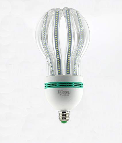 Ampoule Lotus 5U LED Tube E27 6400 K Lumière froide 50 W 17480