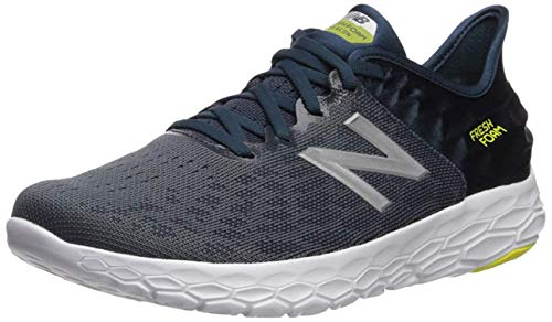 New Balance Men's Fresh Foam Beacon V2 Running Shoe, Orion Blue/Supercell, 10.5 M US