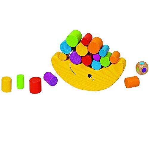 GOKI- Juegos de hábil idad Luna de Equilibrio, Basic, Multicolor (56711)