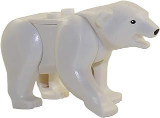 LEGO Animal Minifigure Husky Artic White Polar Bear