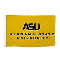 Desert Cactus Alabama State University NCAA 100% Polyester Indoor Outdoor 3 feet x 5 feet Flag (Style 3a) [並行輸入品]