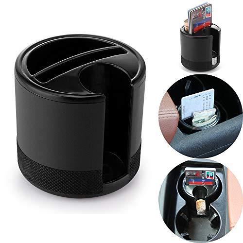 OurLeeme Sostenedor de la Caja de Almacenamiento Mini Coche Organizador con Monedas Claves Slot