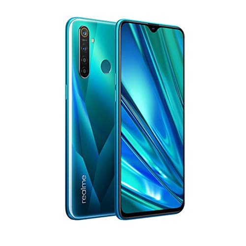 realme 5 Pro Smartphone Móvil, 6.3 '' 8 GB RAM 128 GB ROM Snapdragon 712AIE Octa Core 48MP AI Quad Camera 4035mAh, Dual Sim, Versión Europea (Verde)