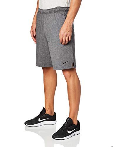 Nike Men's Training Short Charcoal Heather/Black Size Large