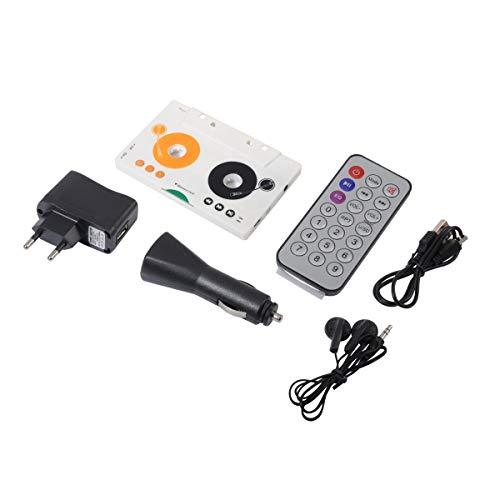 QUMOX Adattatore per Cassette Nastro per Lettore MP3 per Lettore SD/MMC